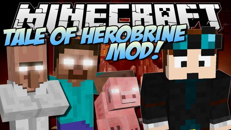 THE TALE OF HEROBRINE | Minecraft: Mod Showcase hello my web site click pls:  http://www.minecraft20.com/  minecraft mods