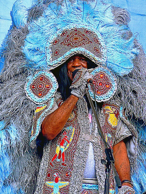 Big Chief Monk Boudreaux at Voodoo Fest New Orleans
