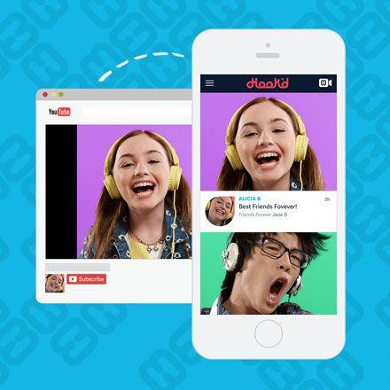 Music social media app