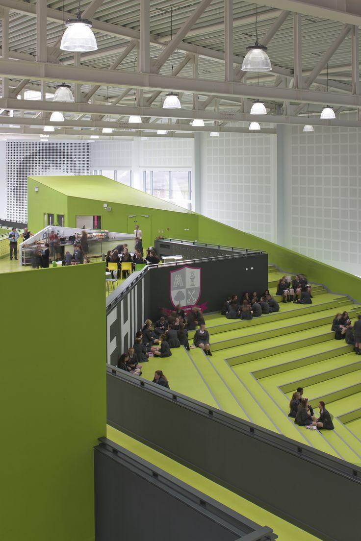 Католическая школа для девочек, Ливерпуль - Интерьеры объекты - Дизайн и архитектура растут здесь - Артишок