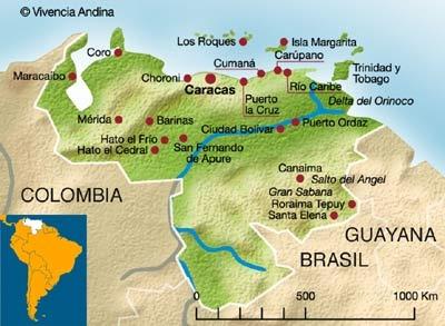 31 best venezuela edo bolivar pto ordaz images on pinterest mapa de venezuela thecheapjerseys Choice Image