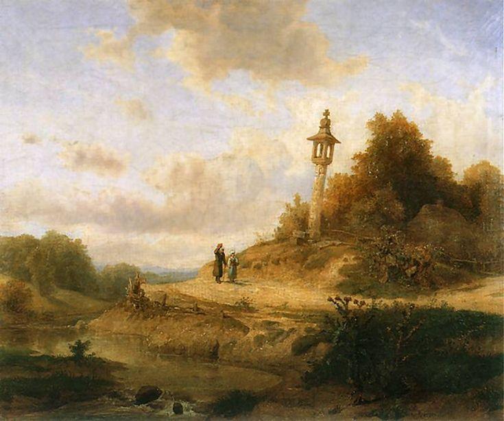 Wojciech Gerson - A Road above the stream (Droga nad potokiem) 1854