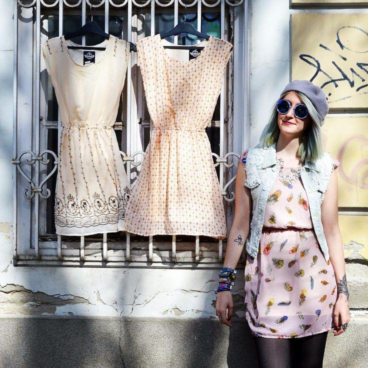 Pastell dreams 🎀 #szputnyikshop #szputnyik #budapest #pastel #summer #dress #collection in #different #styles with #unique #prints #princess #ladies #fashion #vintagestyle