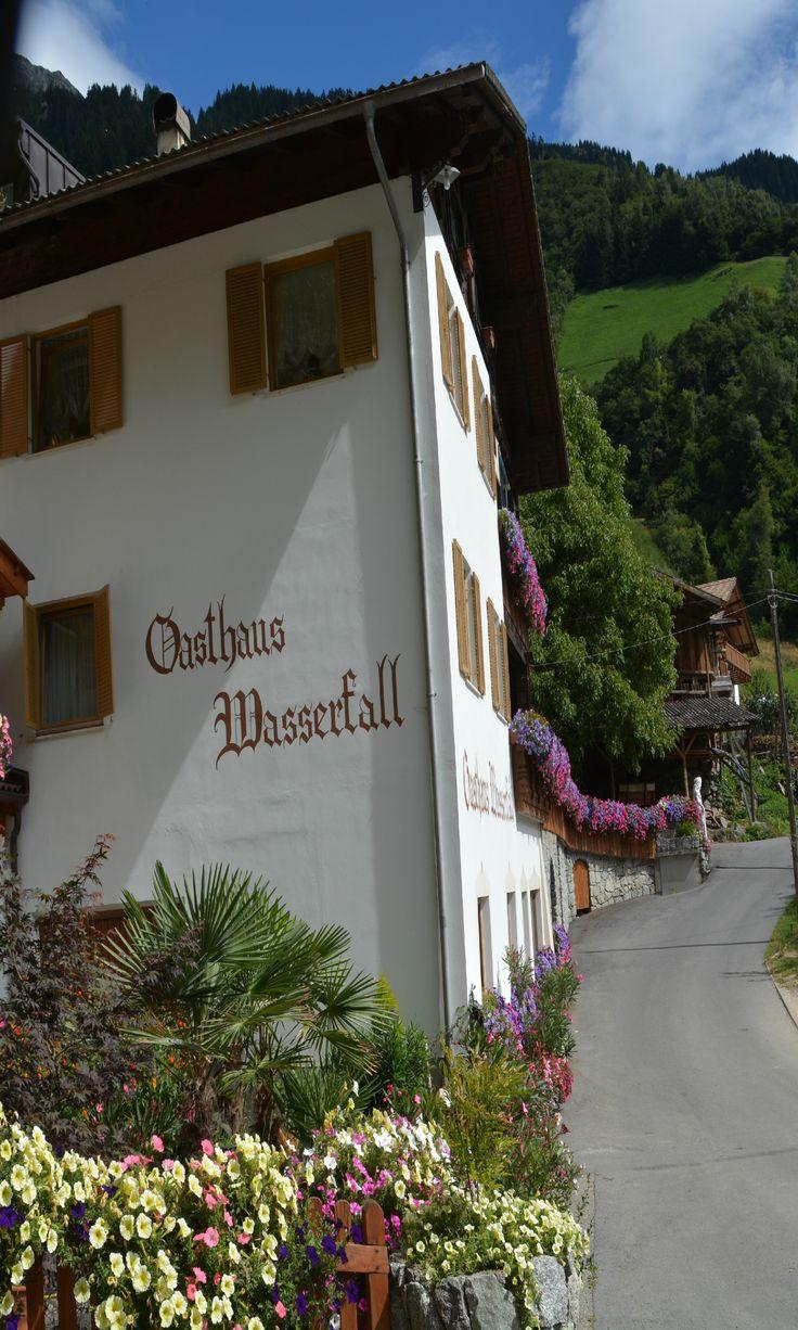 Gasthaus Wasserfall , Parschins, South Tyrol, Trentino Alto Adige Italy