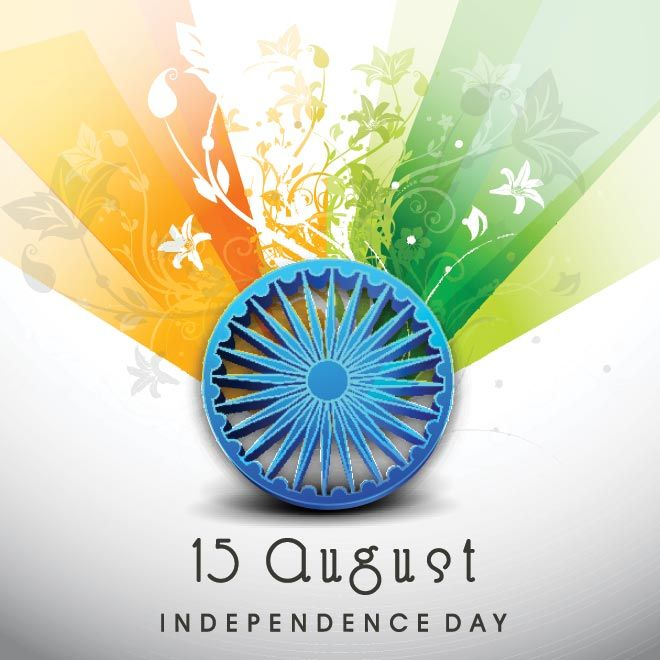 Vector art India Independence wallpaper images