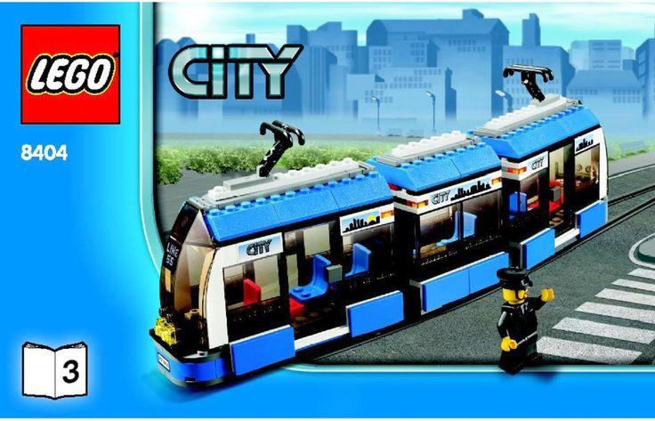 LEGO Public Transport Station Instructions 8404, City