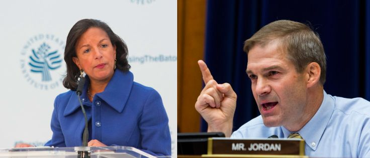 Ohio Rep. Jim Jordan is wondering what former national security adviser Susan Rice may be hiding after she postponed her testimony on the unmasking of Trump associates. Rice was originally set to