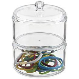 The Container Store > 2-Section Acrylic Stacking Canister