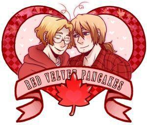 Hetalia Lemons 2 – 1p Canada x 2p Canada: Red Velvet Pancakes