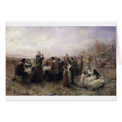 Pilgrims Thanksgiving Card - thanksgiving greeting cards family happy thanksgiving