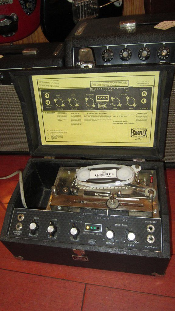 Vintage Original Circa 1978 Maestro Echoplex Ep 4 The Originals Guitar Pedals Pedalboard