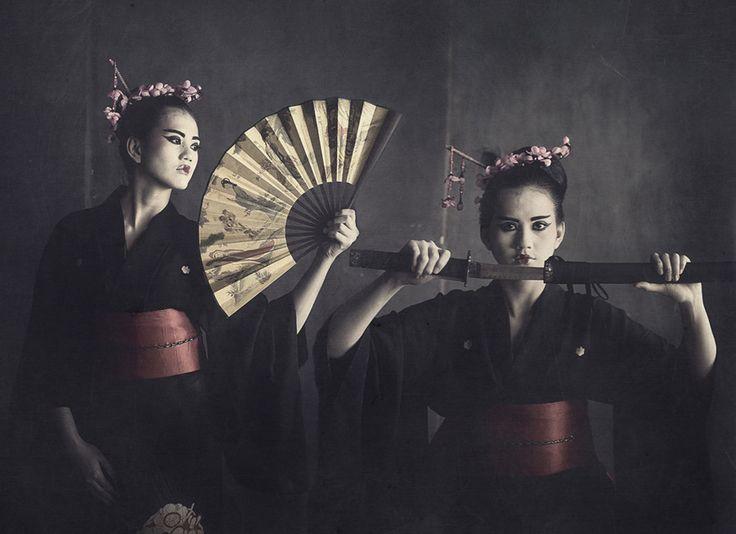 The lady warrior byDikky Pribudi: Turning Japanese, Lady Warriors, Japanese Fans, Posts, Warriors Bydikki, Japan Fans, Warriors By Dikki
