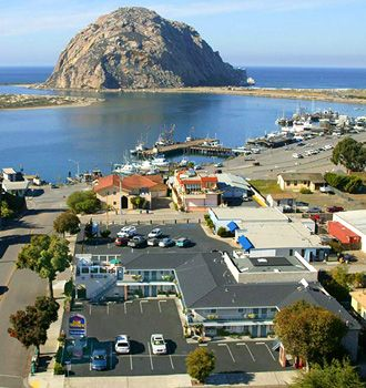Morro Bay, CA - small seaside fishing village made for walking around town, shopping and eating the freshest seafood.