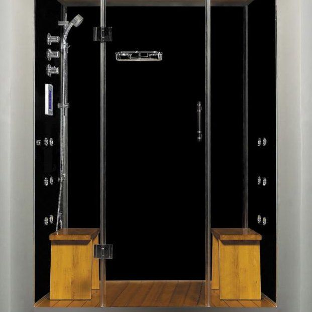 Enjoy the relaxing and therapeutic benefits of steam today with this beautiful and stylish multi water jet shower enclosure.