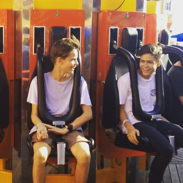 Fun day at Luna Park today!