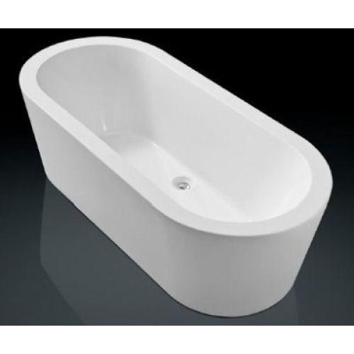 Royal plaza Zelo2 bad vrijstaand 180x80 cm met badwaste en onderstel wit - 37686 - Sanitairwinkel.nl