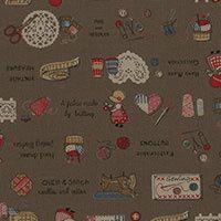 Quiltstof Little Heroines by Lecien 314556-80