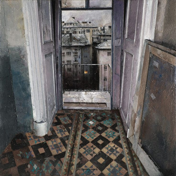 Matteo Massagrande - art -  Paintings of Desolate Interiors