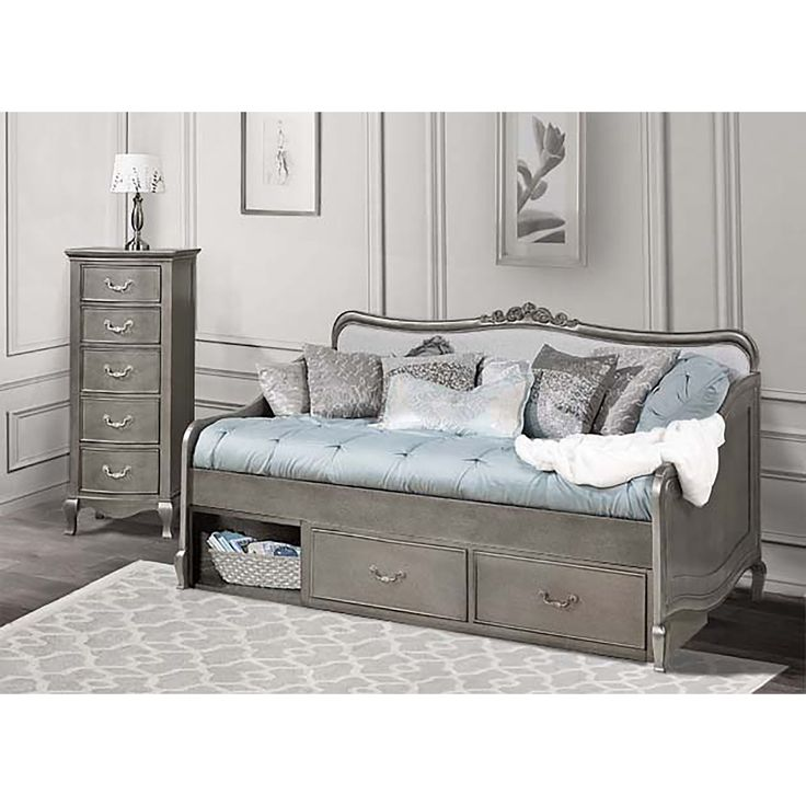 1000 Ideas About Daybed With Storage On Pinterest: full size daybed with storage