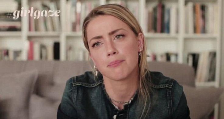"""Amber Heard i stark kampanj om kvinnomisshandel som alla borde se: """"Du är inte ensam"""""""