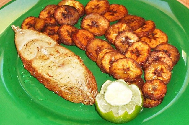 Plantain a typical african meal i should actually get for Cuisine africaine