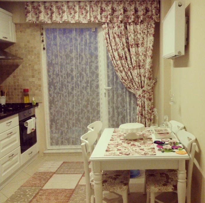 Halı, Mutfak, Perde, Yemek masası