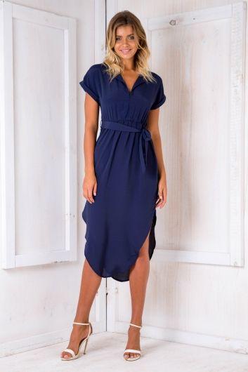 Pippa Dress - Navy $59.95