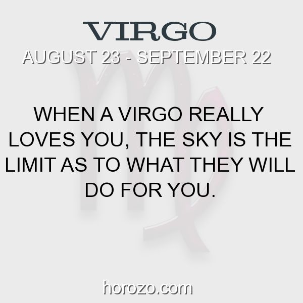 Fact about Virgo: When a Virgo really loves you, the sky is the limit as... #virgo, #virgofact, #zodiac. Virgo, Join To Our Site https://www.horozo.com You will find there Tarot Reading, Personality Test, Horoscope, Zodiac Facts And More. You can also chat with other members and play questions game. Try Now!