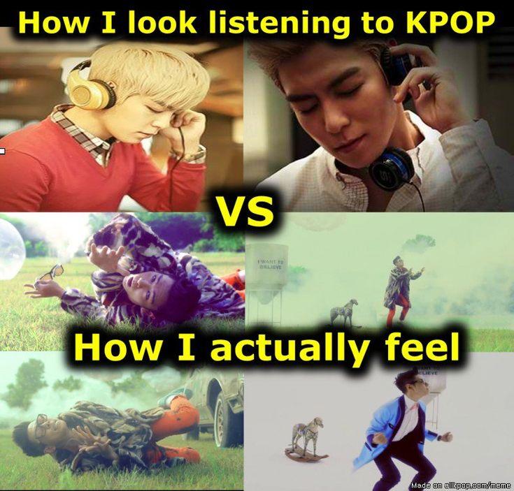 Listening to KPOP... | allkpop Meme Center