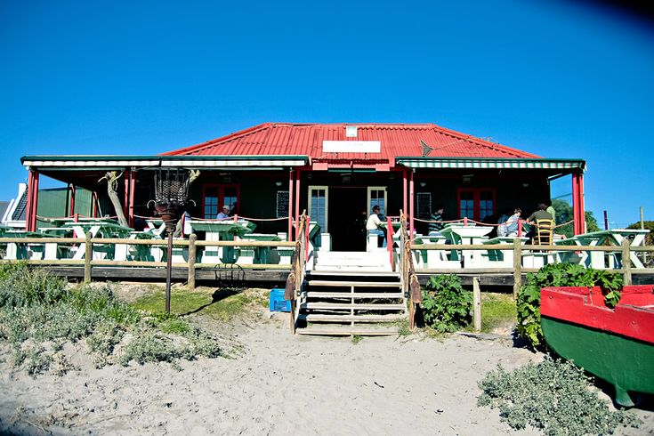 Paternoster, West coast, South Africa. The best crayfish restaurant on the beach