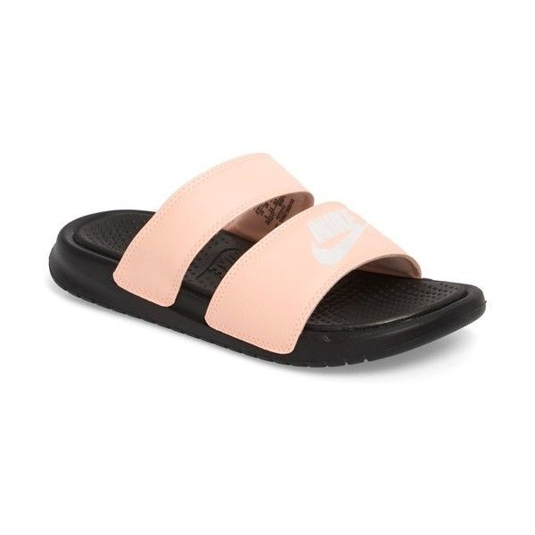 7b49728feff Women s Nike  Benassi - Ultra  Slide Sandal (28 JOD) ❤ liked on Polyvore  featuring shoes