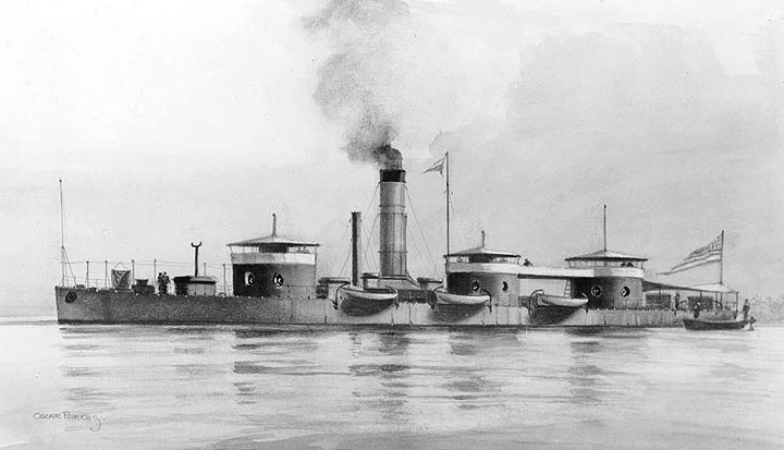 USS Roanoke.