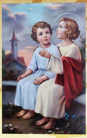 Child Jesus with St. John the Baptist.