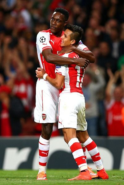 Danny Welbeck and Alexis - Arsenal FC