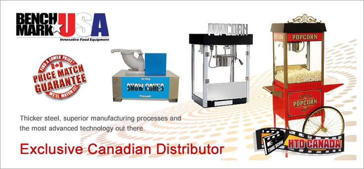 Commercial & Home Theater Popcorn Machines - HTD Canada Popcorn