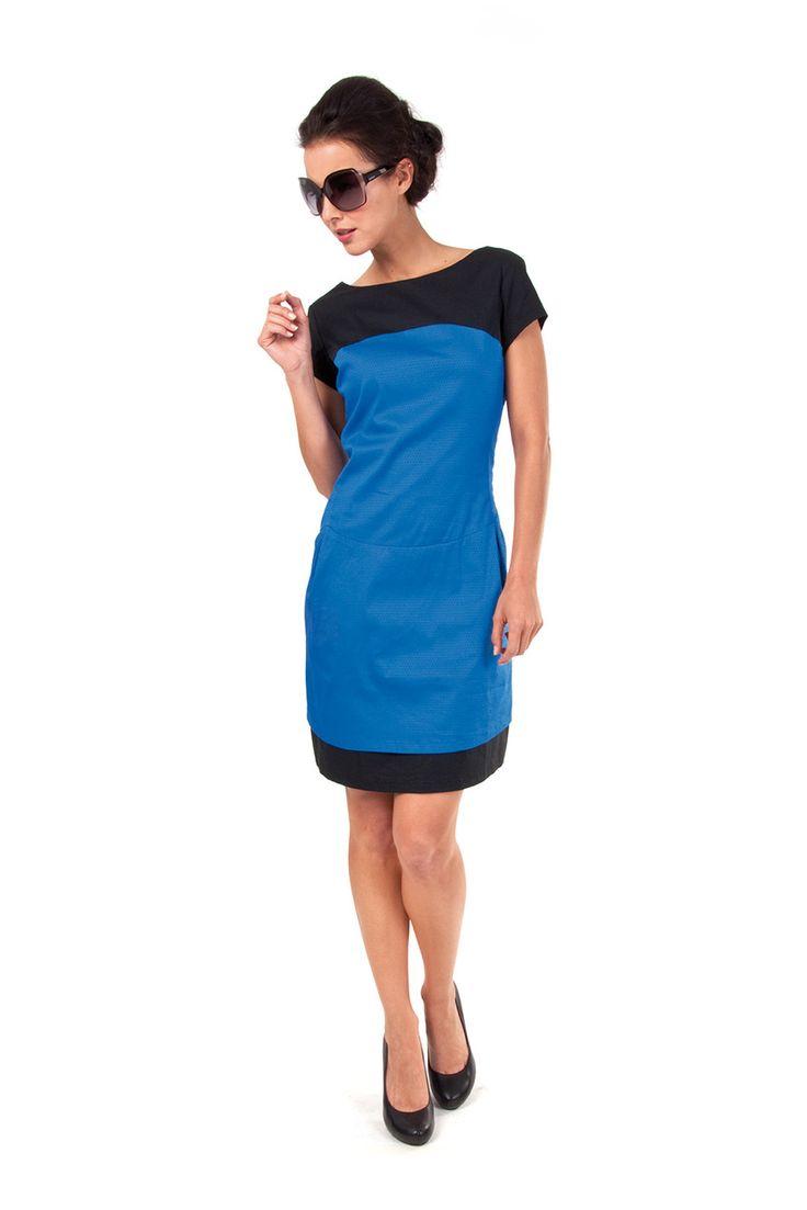 HELENI-086 SKUNKFUNK women's dress fabric content: 63% cotton + 34% nylon + 3% elastane color: black price: $135.00