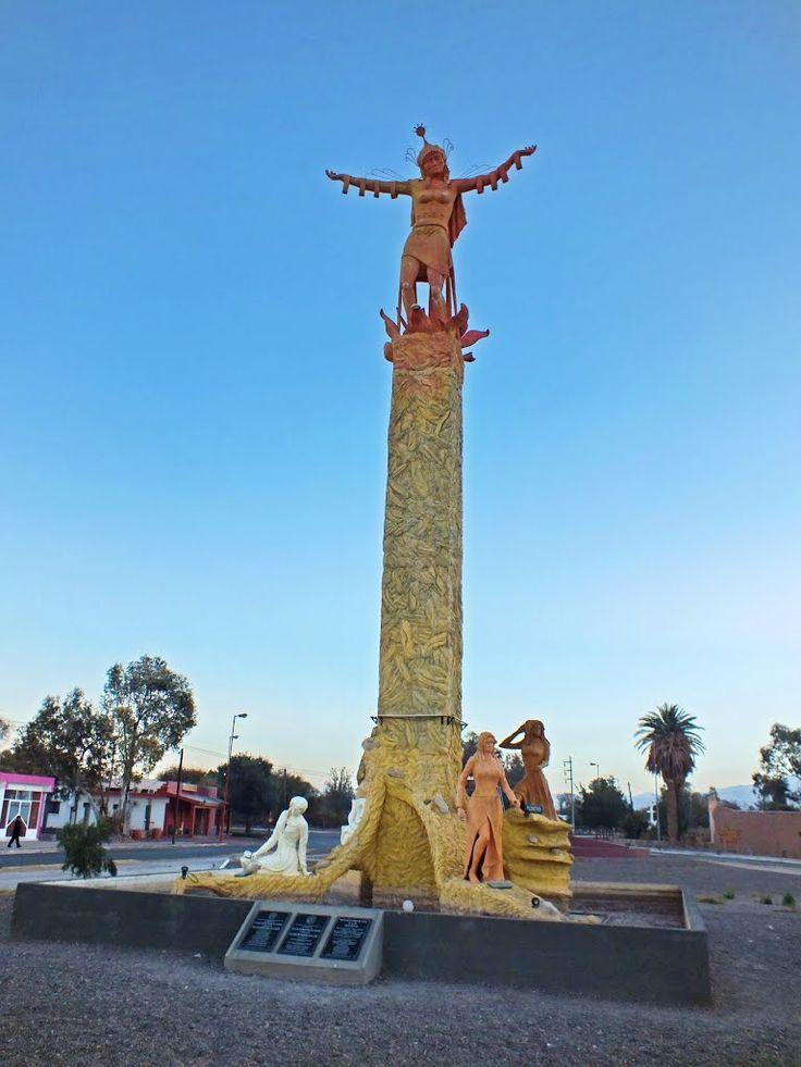 Monumento a la Mujer, en Fiambala, Catamarca, Argentina