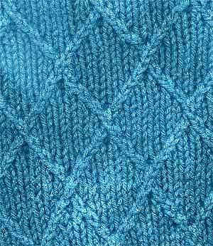 Knitting Quilted Lattice Stitch : 56 Best images about Raised knitting stitches on Pinterest Antiques, Cable ...