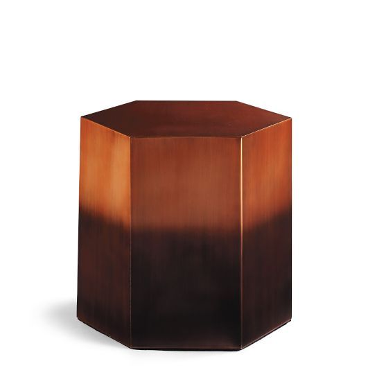 Ombre Tall Side Table by Porta Forma