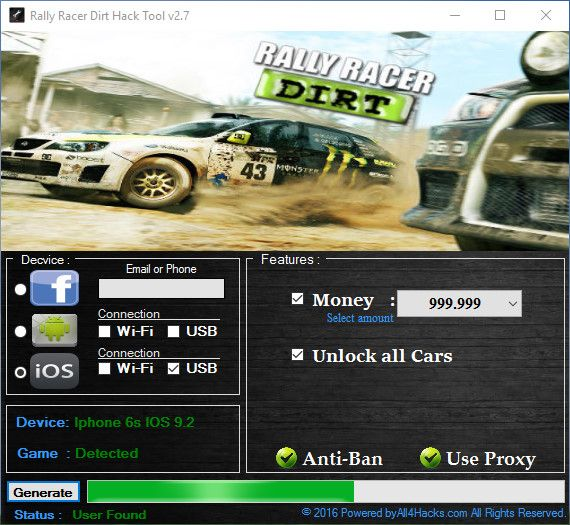 RALLY RACER DIRT HACK