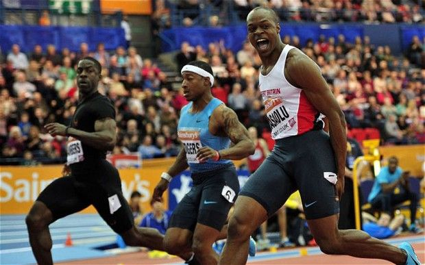 James Dasaolu suffered a fitness scare ahead of World Indoor Championships winning the 60 metres in Birmingham