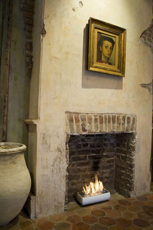 M s de 1000 ideas sobre portable fireplace en pinterest - Chimenea de alcohol ...