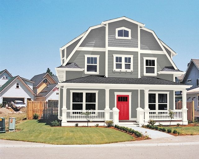 Sherwyn Williams Classic French Whitetail Trim And Real Sherwin Exterior House