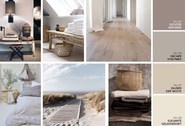 mood board alpina feine farben beige creme natur d cher von paris elegante gelassenheit. Black Bedroom Furniture Sets. Home Design Ideas