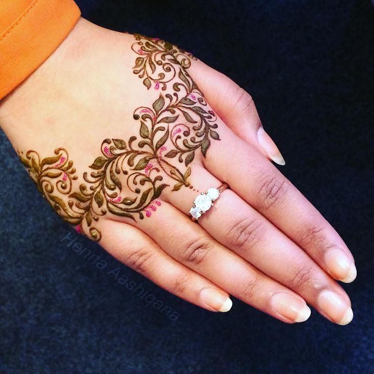 """""""Henna design voor @beautifulmehndi """""""