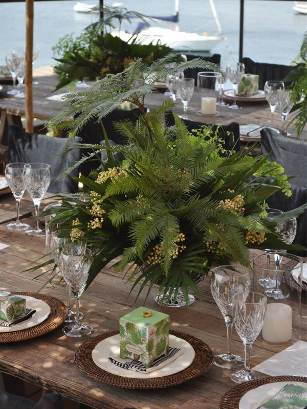 48 best wedding ideas centerpiece images on pinterest flower large fern centerpiece fern centerpiecewedding centerpieceswedding junglespirit Choice Image