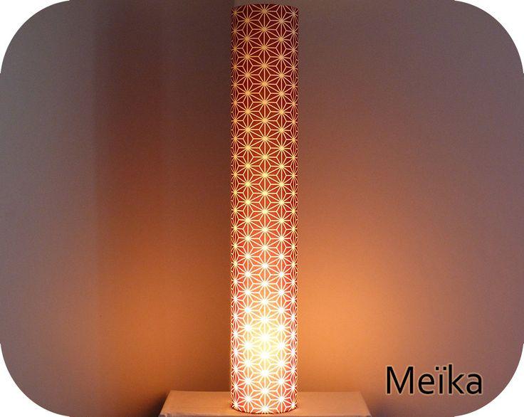 les 40 meilleures images du tableau lampe tube en tissu japonais sur pinterest lampes tissu. Black Bedroom Furniture Sets. Home Design Ideas