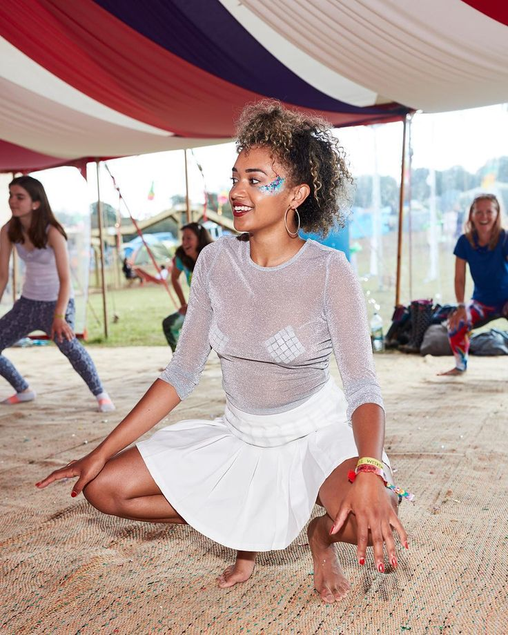 Energise your mind and body . Bestival by Jamie Baker