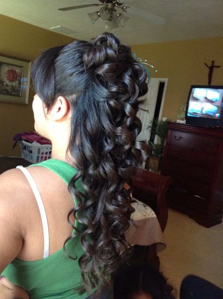 Phenomenal 1000 Images About Quince Hair On Pinterest Quinceanera Short Hairstyles For Black Women Fulllsitofus