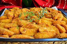 Reteta culinara Aperitiv cartofi in crusta de malai din categoria Aperitive / Garnituri. Cum sa faci Aperitiv cartofi in crusta de malai